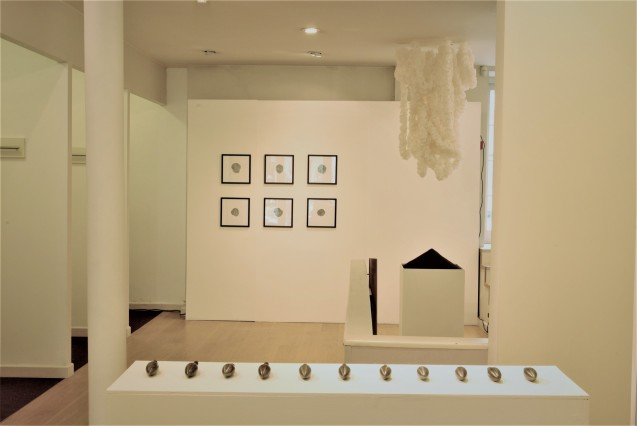 Dull, installation view (Ashleigh Harrold, Bea Haines, Beth Biddiss)